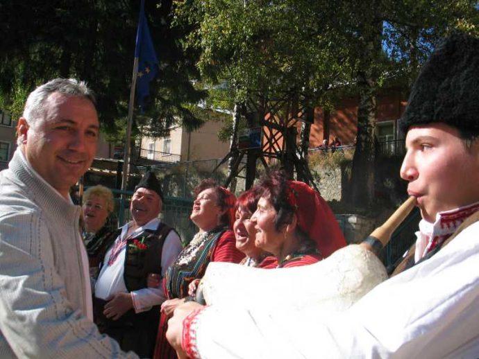 Христо Стоичков в Забърдо