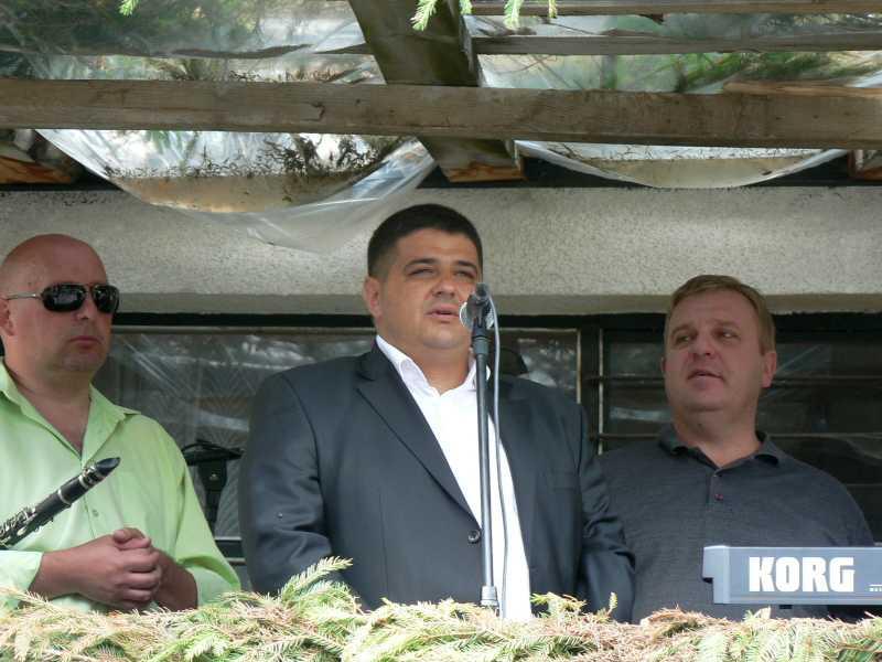 Кметът Валентин Черпоков с обръщение пред съселяните си