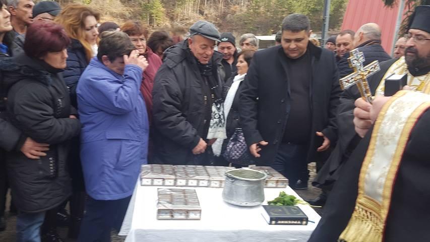 Курбан против катастрофи и инциденти на 27.12.2016 г. С присъствието на кмета на с. Хитрино Нуридин Исмаил