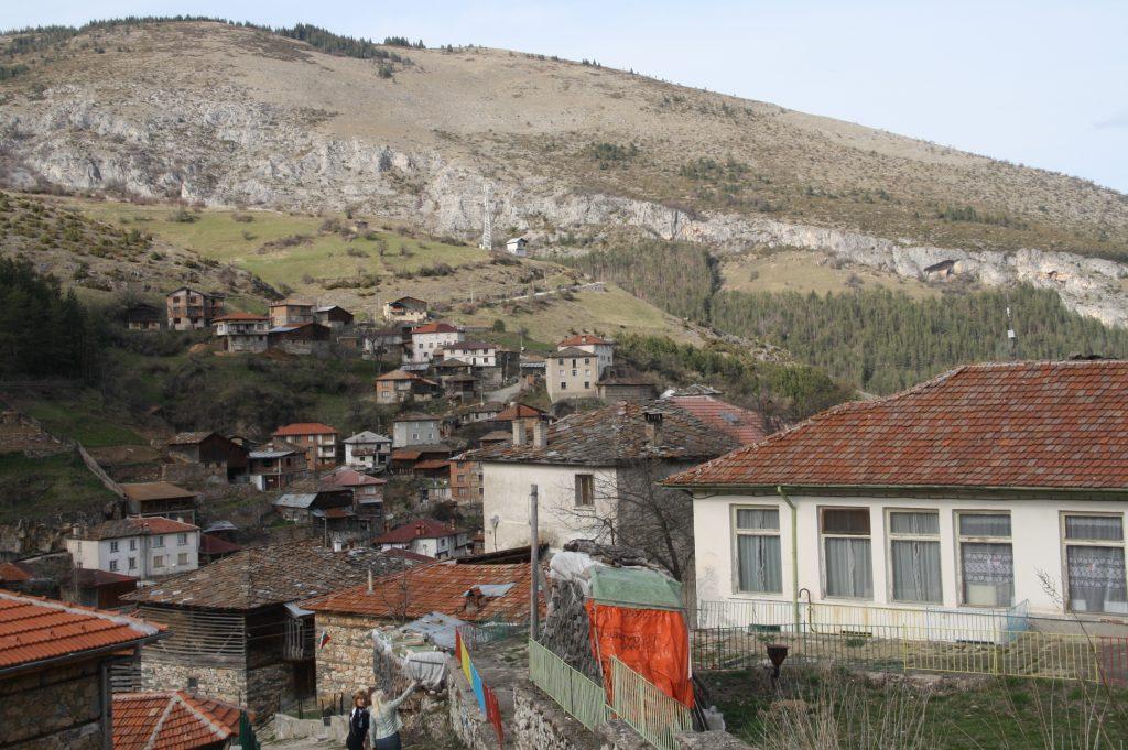 Селото от птичи поглед